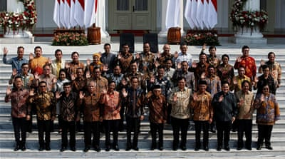 Indonesia's Widodo appoints archrival as defence minister