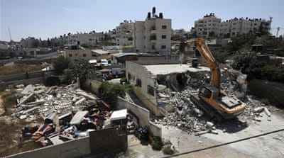 Rights group: Record number of home demolitions in East Jerusalem