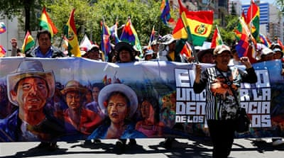 OAS begins audit of Bolivia's election amid growing protests