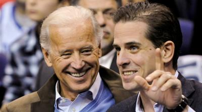 Joe Biden and his son Hunter