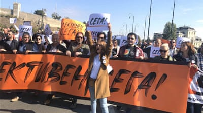 Protesting North Macedonia cultural workers make breakthrough