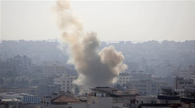 What was behind the latest escalation in Gaza?