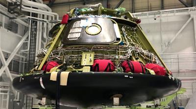 Boeing Co.'s CST-100 Starliner astronaut capsule