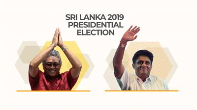 Infographic: Sri Lanka presidential election 2019