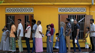 Sri Lankans vote to elect new president after divisive campaign
