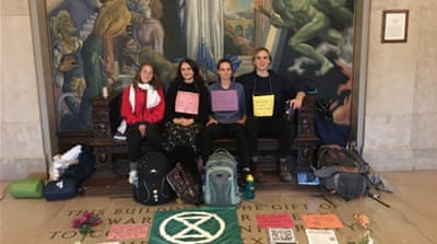 Hungry for change: Ivy League climate activists urge divestment
