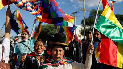 Shortages grip Bolivia as government struggles to contain unrest
