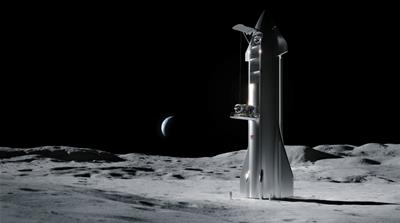 NASA's commercial moon shot: Musk's and Bezos's firms to bid