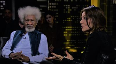 Studio B, Unscripted: With Elif Shafak and Wole Soyinka