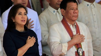 'Are you afraid?': Philippines' Robredo defiant over drugs war