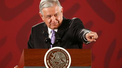 AMLO's first year: Concern over security and economy looms