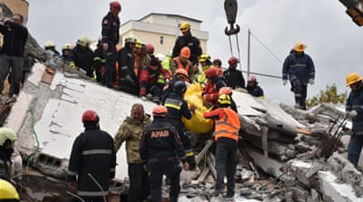 Albania's search for quake victims ends as death toll rises to 51
