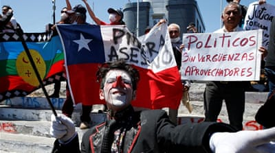 Mass protests expose cracks in Chile's 'economic success' story