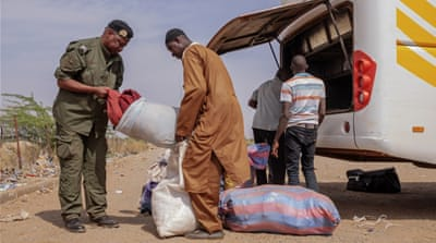 On the road with Niger's anti-drug trafficking squad