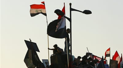 Anbaris keep a distance from Iraq anti-government protests
