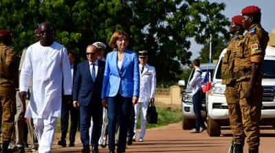 France announces troop deployment to Burkina Faso