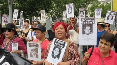 Relatives of Chile's disappeared condemn new security measures
