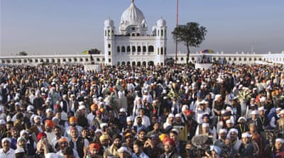 'Big moment': Indian Sikhs on historic pilgrimage to Pakistan