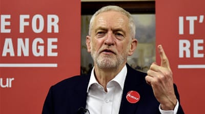 Corbyn would stop arms sales to Saudi for use in Yemen if elected