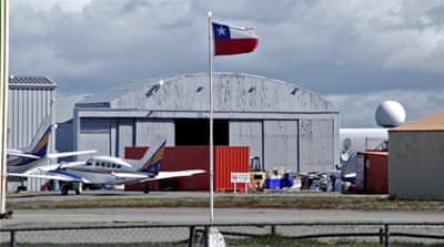 Chile's Air Force finds debris believed to be from missing plane