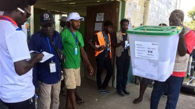 Bougainville independence hopes rise as vote counting begins