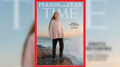 Greta Thunberg named 2019 Time Person of the Year