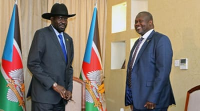 South Sudan president offers compromise as gov't deadline looms