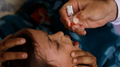 Two killed in attack targeting polio vaccination team in Pakistan