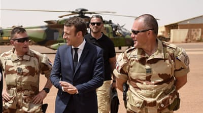 France's Macron says 33 'terrorists' killed in Mali operation