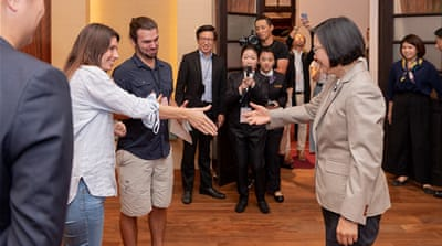 'Be my guest': Taiwan's Tsai Ing-wen woos online influencers
