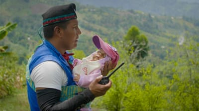 On patrol with the Indigenous Guards of Colombia