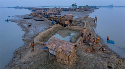 In Pictures: Bangladesh on the frontline of climate crisis
