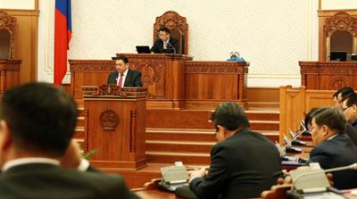 Mongolia speaker expelled amid ongoing battle against corruption