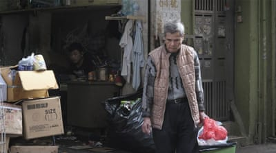 Hong Kong's elderly struggle with income, accommodation, care