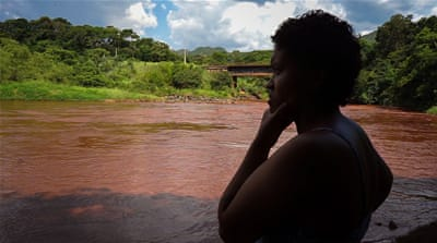 Brazil's Pataxo depended on a river that's now polluted with mud