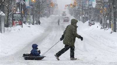 Eastern Canada disrupted by major snow storm
