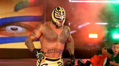 WWE's Rey Mysterio: 'I'm representing my people'
