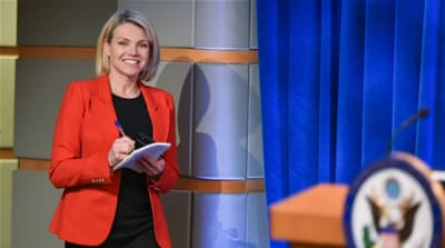 Heather Nauert ends bid to be next US ambassador to UN
