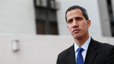 Exclusive: Venezuela's Guaido mum on backing US military action