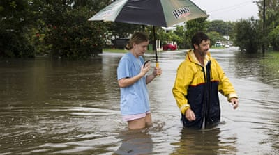 80 people rescued as flooding worsens in Queensland, Australia