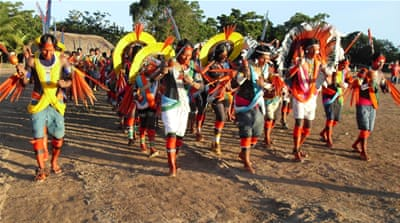 Brazil indigenous group mobilises against planned soy railway