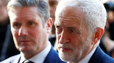 UK opposition Labour Party moves to back second Brexit vote