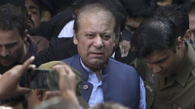 Pakistan court rejects bail for ex-PM Nawaz Sharif