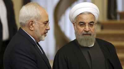 Iran power struggle continues as Zarif keeps top diplomatic post