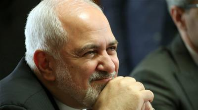 Why did Iran's Foreign Minister Zarif resign?