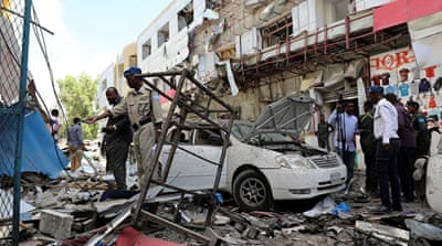 Car bomb attack in Somalia's Mogadishu kills at least 11 people