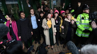 'Stansted 15' anti-deportation activists spared jail time in UK