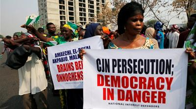 Nigeria's democracy is fading away