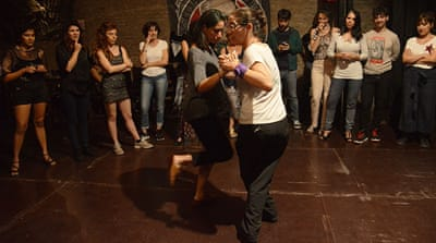 All-women Argentina tango festival calls for end to machismo