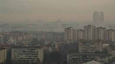 Inside Skopje, Europe's most polluted capital city